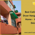 Best Ceiling Cloth Dryer Hanger for your Home -  Homwell Deluxe 1